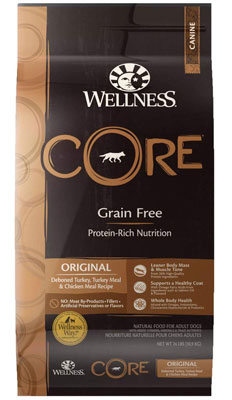 Wellness Core Grain-Free Protein-Rich Nutrition