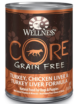 Wellness Core Grain Free Turkey and Chicken Formula Wet Food