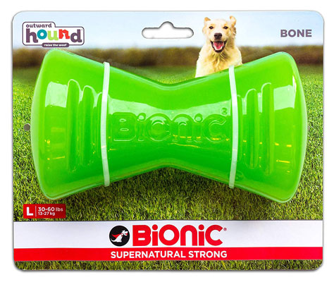 Bionic Bone Durable Tough Fetch and Chew Toy