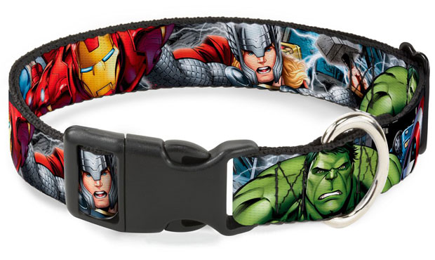 Avengers Buckle Down Collar