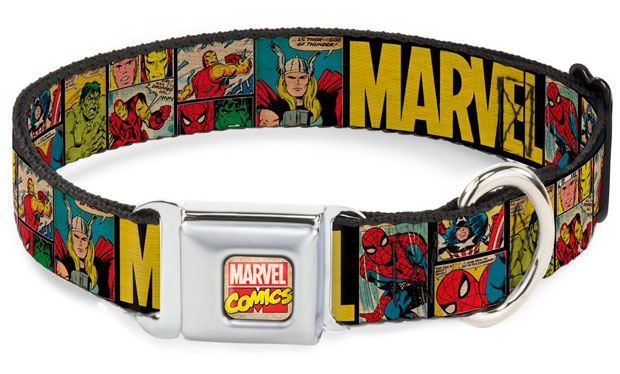 Retro Seatbelt Marvel Comic