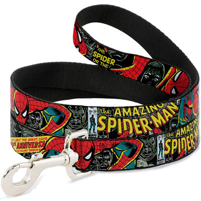 The Amazing Spiderman 100th Anniversary Issue Dog Leash