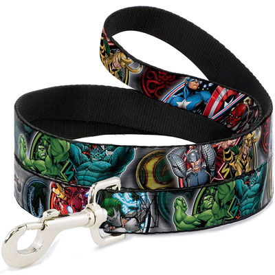 Marvel Villain and Hero Leash
