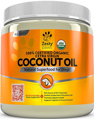 Zesty Coconut Oil for Dogs