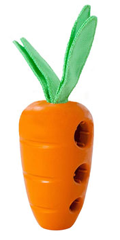 Petstages Carrot Stuffer Treat Dispensing Dog Toy