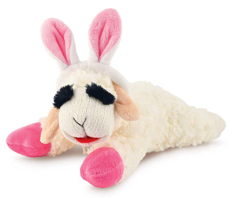 Lambchop with Easter Bunny Ears