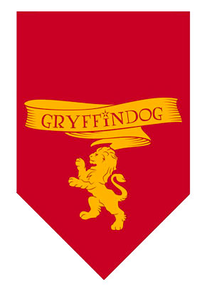 Harry Potter GryffinDog Bandana