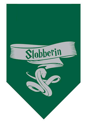 Harry Potter Slobberin Bandana