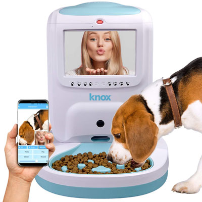 Knox Dog Feeder with 2 Way Video and Audio