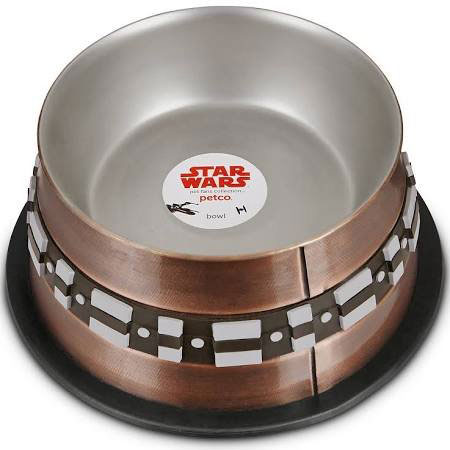 Chewbacca Stainless Steel Dog Bowl