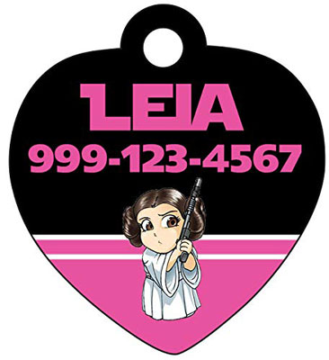 Star Wars Custom Pet Id Tag