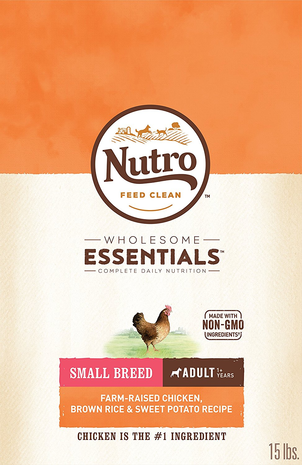 Nutro Dog Food - Chicken, Brown Rice & Sweet Potato