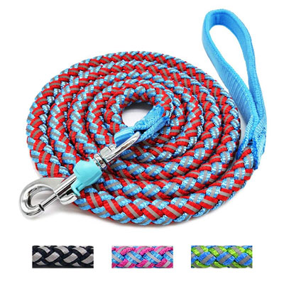 Mycicy Reflective Rope Dog Leash